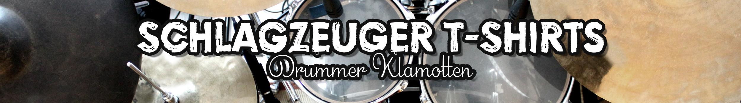 Drummer Shirt & Klamotten für Schlagzeuger