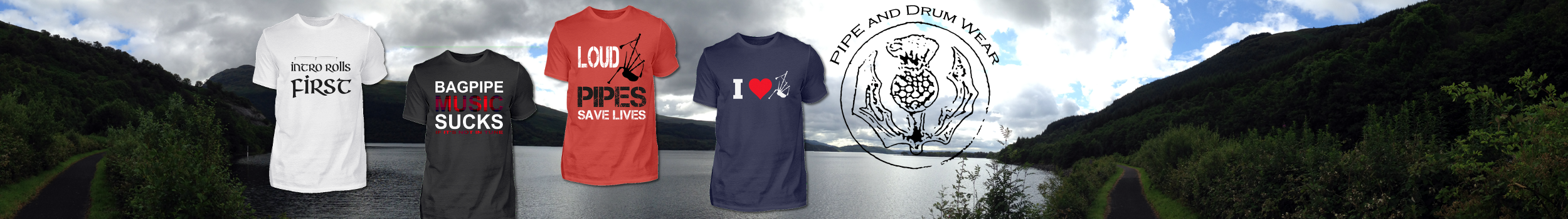 Pipes and Drums Funshirts