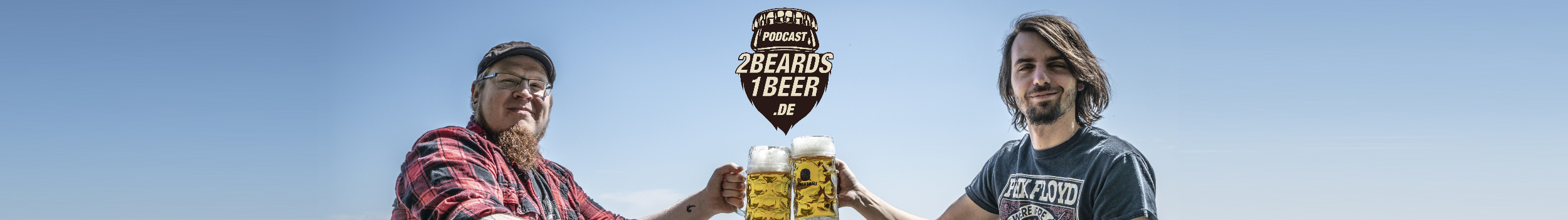 2 Beards 1 Beer - Merch-Shop