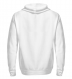 Zip up hoodie with print on the backside